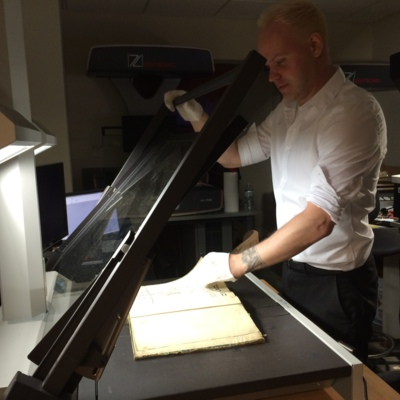 Strashun Library Book Being Digitized in New York