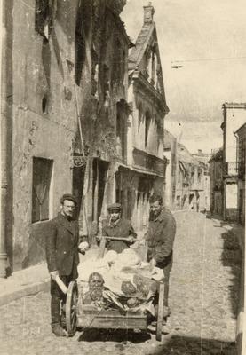 Hidden materials recovered after the war